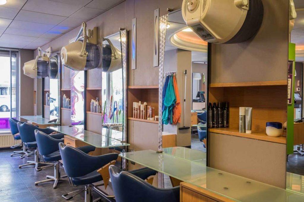 salon van binnen haarstudio corien